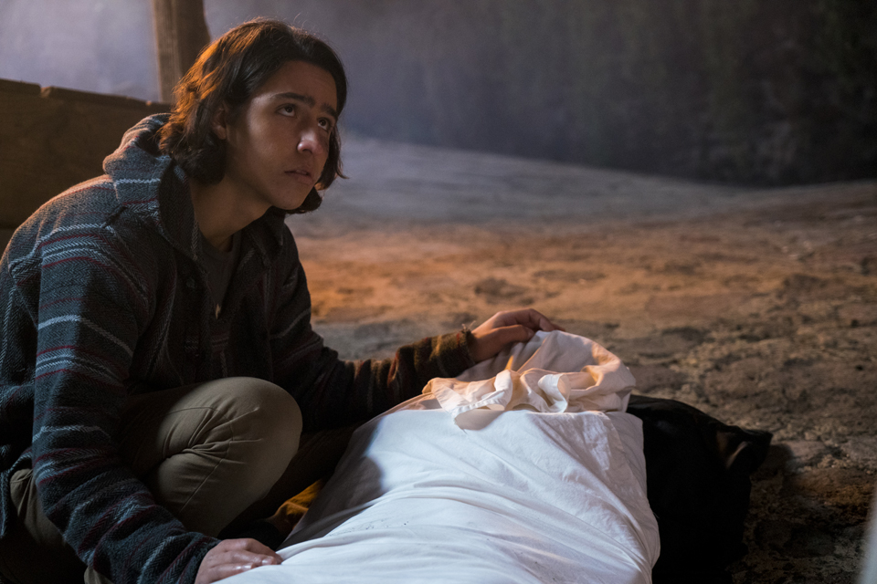 Christopher Manawa (Lorenzo James Henrie) in Episode 1 Photo by Richard Foreman/AMC