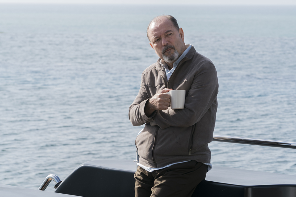 Daniel Salazar (Ruben Blades) in Episode 1 Photo by Richard Foreman/AMC