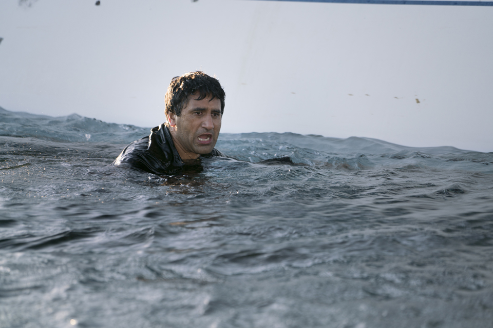 Travis Manawa (Cliff Curtis) in Episode 1 Photo by Richard Foreman/AMC