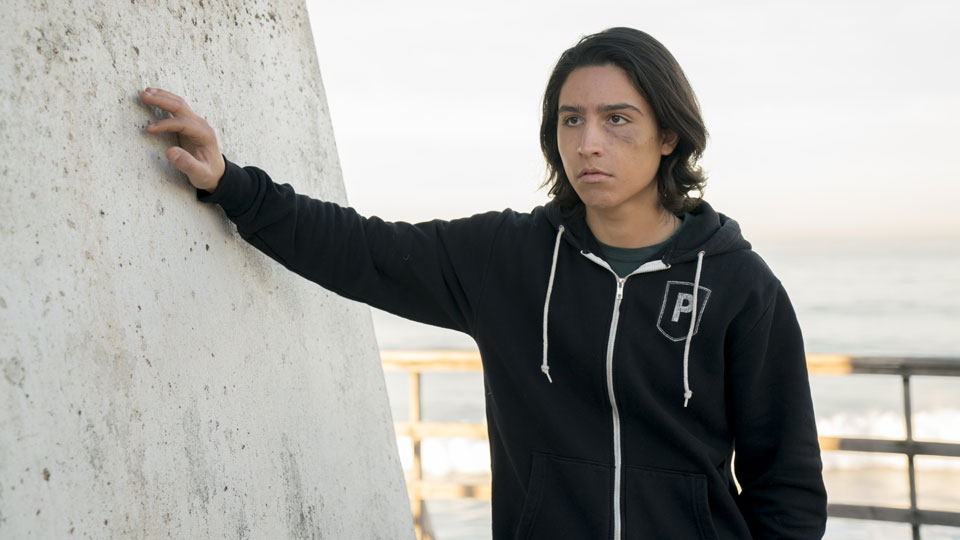 Christopher Manawa (Lorenzo James Henrie) in Episode 2 Photo by Richard Foreman/AMC
