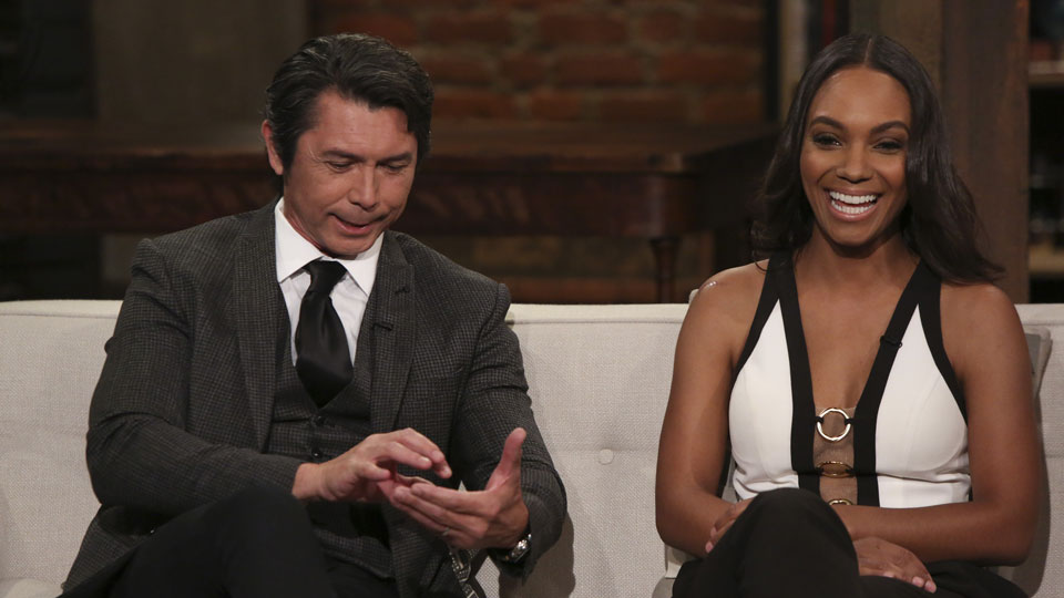 Lou Diamond Phillips e Lyndie Greenwood