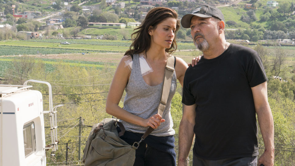 Ofelia Salazar (Mercedes Mason) and Daniel Salazar (Ruben Blades) in Episode 6 Photo by Richard Foreman/AMC