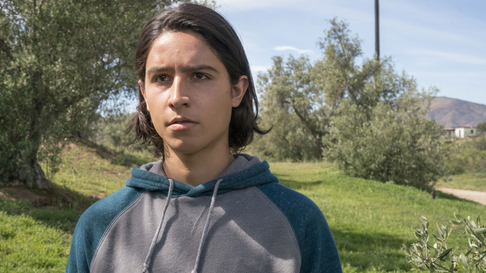 Christopher Manawa (Lorenzo James Henrie) no Episódio 7 Photo by Richard Foreman/AMC