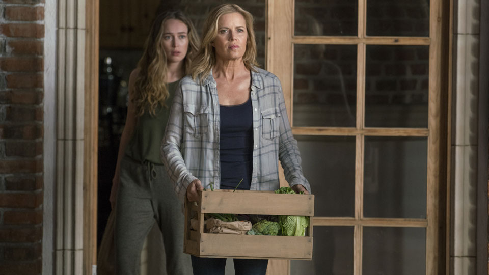 Madison Clark (Kim Dickens) e Alicia Clark (Alycia Debnam-Carey) no Episódio 7 Photo by Richard Foreman/AMC