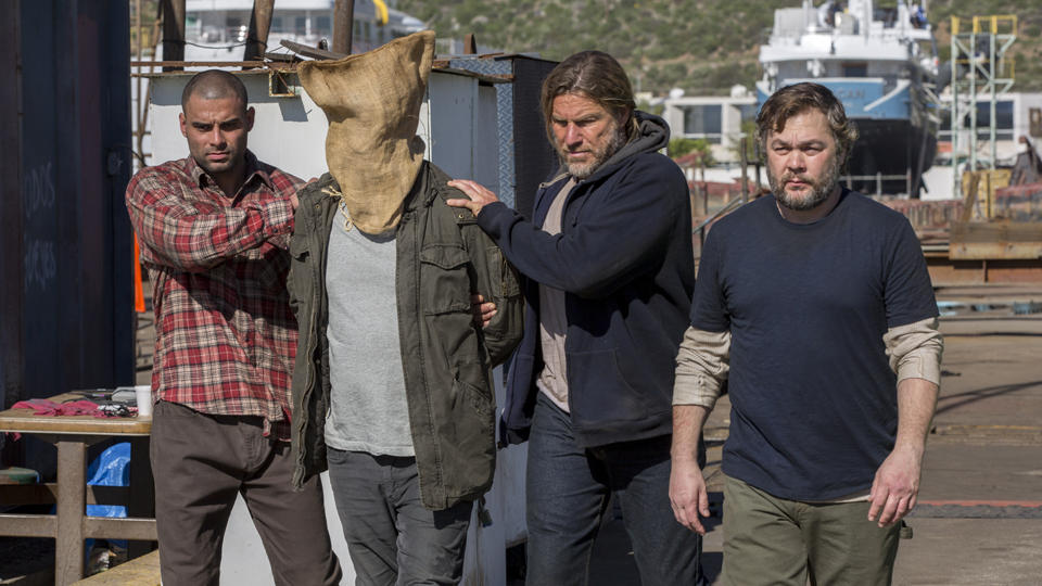 Travis Manawa (Cliff Curtis) no Episodio 5 Photo by Peter Lovino/AMC