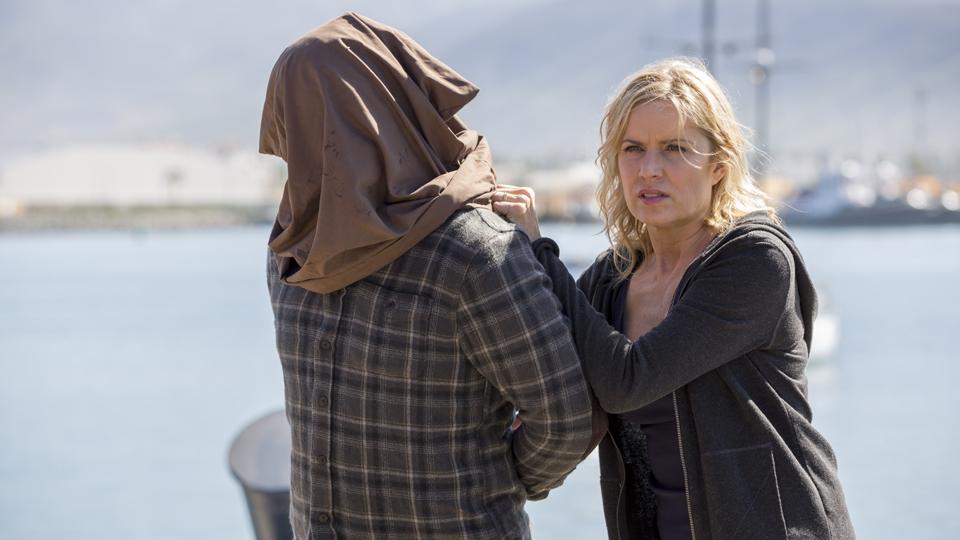 Madison Clark (Kim Dickens) no Episodio 5 Photo by Peter Lovino/AMC