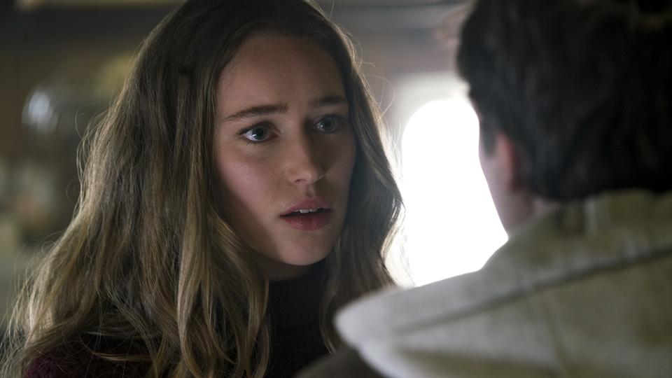 Alicia Clark (Alycia Debnam-Carey) no Episodio 5 Photo by Peter Lovino/AMC