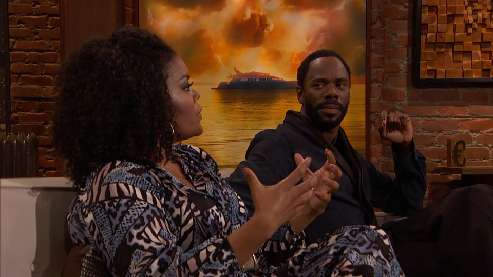 Yvette Nicole Brown e Colman Domingo (Victor Strand) no Episódio 3