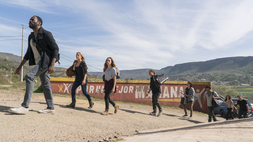 AMC Confirma data de estreia da Segunda Parte de 'Fear the Walking Dead' T2