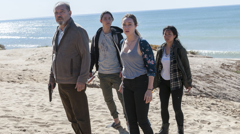 daniel chris alicia e alex fear the walking dead
