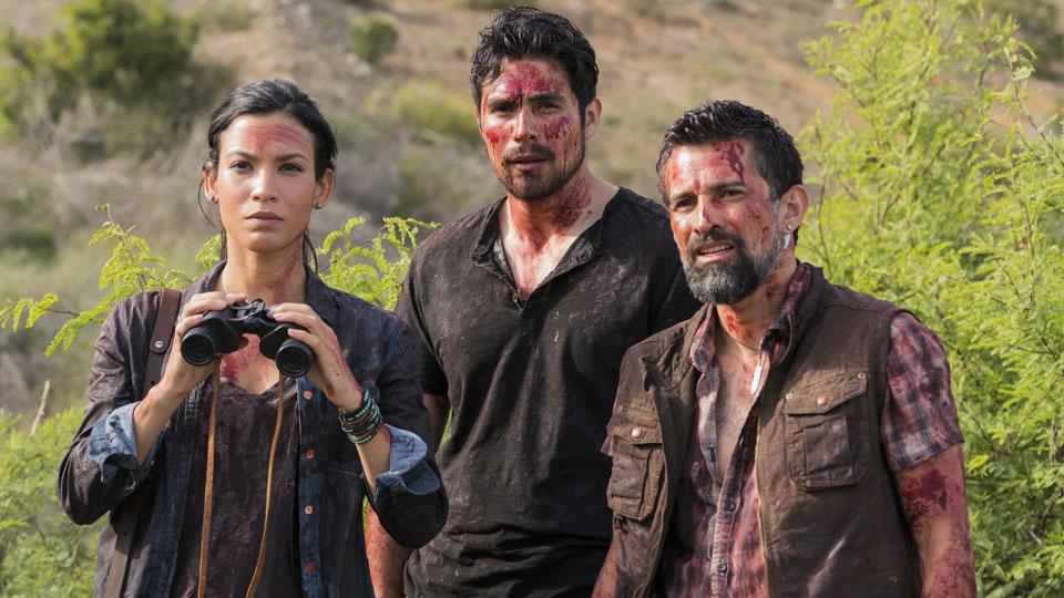 Francisco (Alfredo Herrera) e Luciana (Danay Garcia) no Episódio 8 Foto de Richard Foreman/AMC