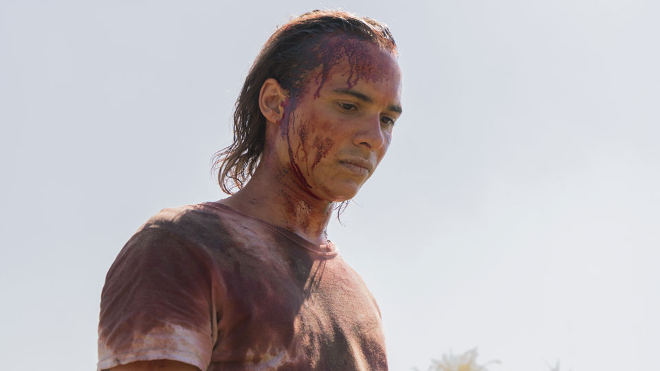 Nick Clark (Frank Dillane) no Episódio 8 Foto de Richard Foreman/AMC
