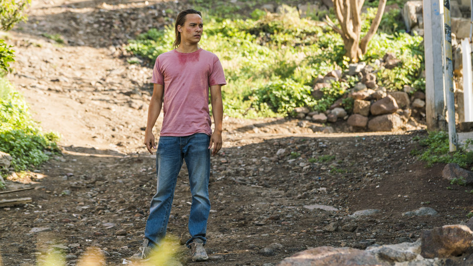 Nick Clark (Frank Dillane) no Episódio 9 Foto de Richard Foreman/AMC