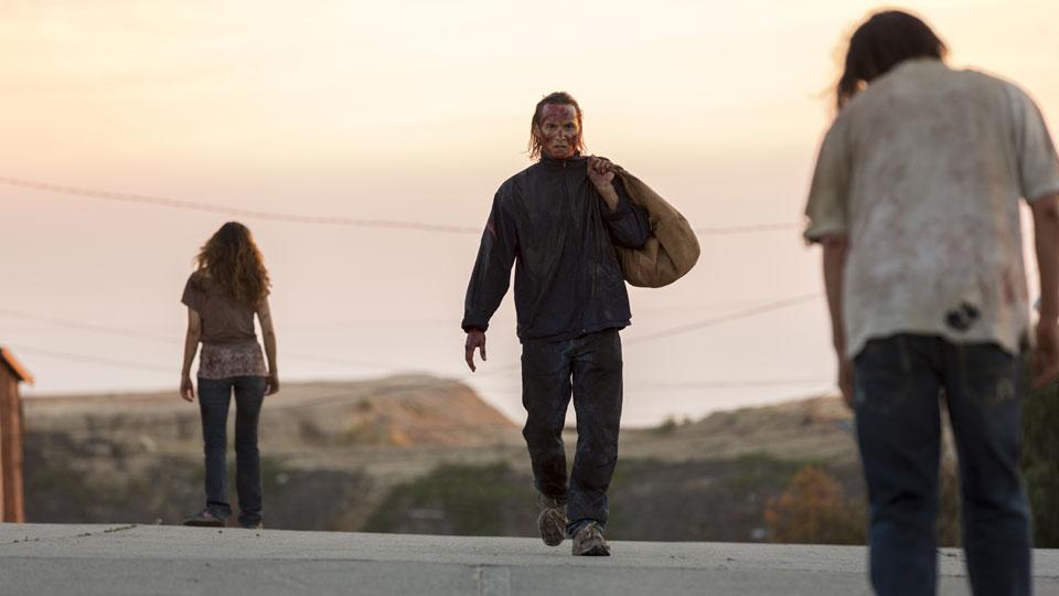 Nick Clark (Frank Dillane) no Episódio 15 Foto de Richard Foreman/AMC