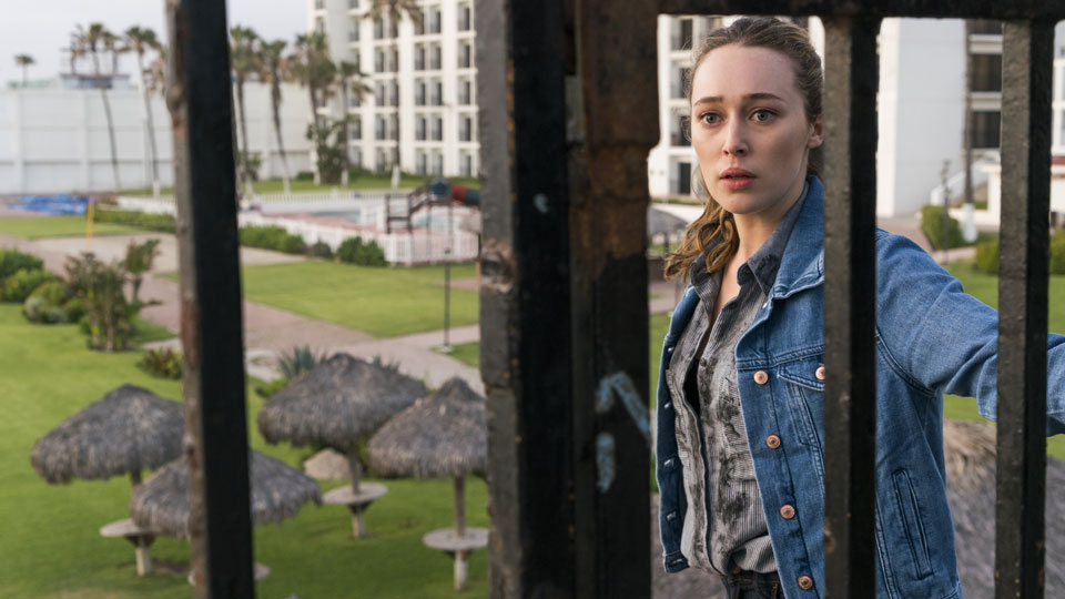 Alicia Clark (Alycia Debnam-Carey) no Episódio 11 Foto de Richard Foreman Jr/AMC