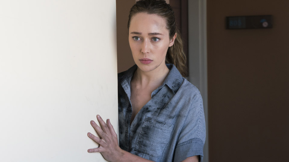 Alicia Clark (Alycia Debnam-Carey) no Episódio 10 Foto de Richard Foreman/AMC