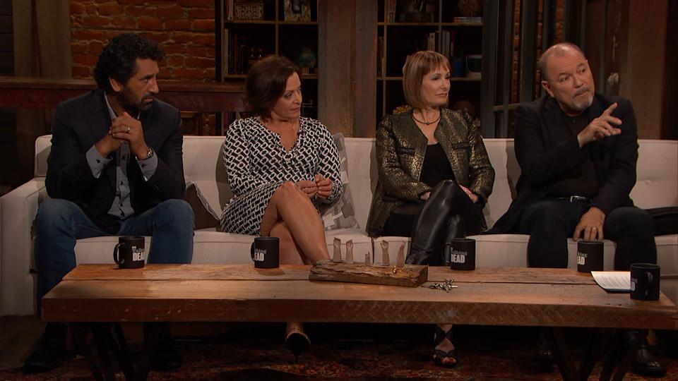 Cliff Curtis (Travis Manawa), Marlene Forte (Célia Flores), Gale Anne Hurd, Rubén Blades (Daniel Salazar)