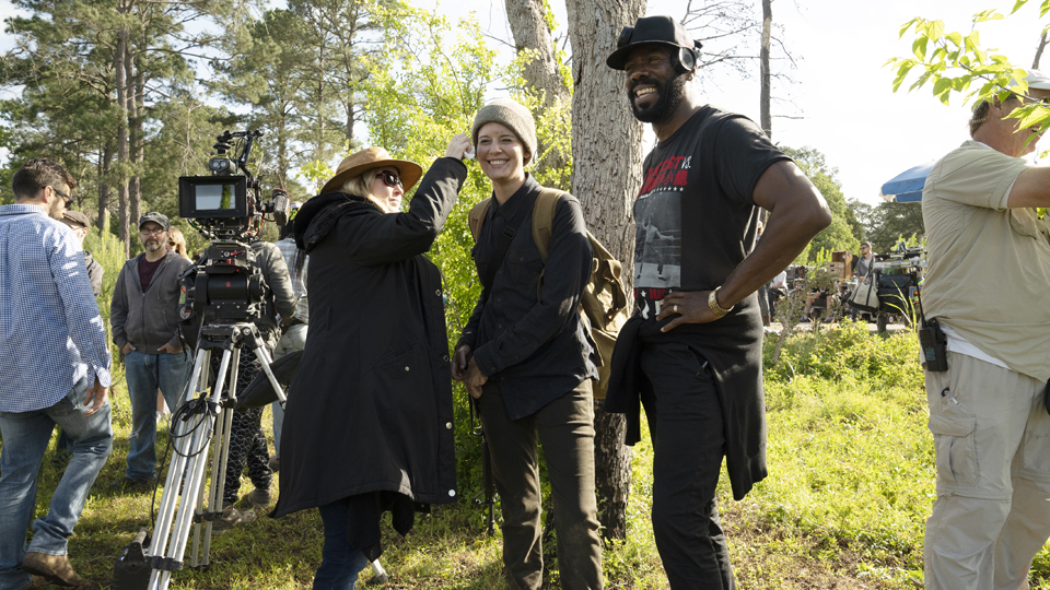 BTS, ,Colman Domingo as Victor Strand Maggie Grace as Althea - Fear the Walking Dead _ Season 4, Episode 12 - Photo Credit: Ryan Green/AMC