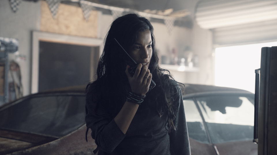 Danay Garcia as Luciana - Fear the Walking Dead _ Season 4, Episode 13 - Photo Credit: Ryan Green/AMC