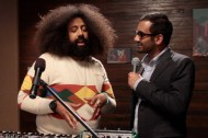 Aziz Ansari Makes Music with Reggie Watts