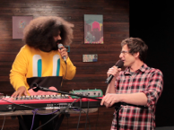 Reggie makes music with guest star Andy Samberg