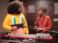 Reggie makes music with special guest Jordan Peele