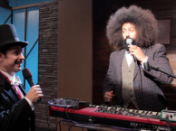 Reggie makes music with Paul F. Tompkins
