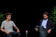 Justin Bieber Gets Whipped by Zach Galifianakis