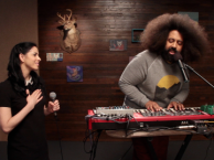 Reggie makes music with guest star Sarah Silverman