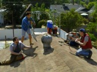 The Birthday Boys - Goofy Roofers