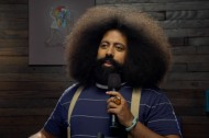 Reggie Watts Goes Full Seinfeld