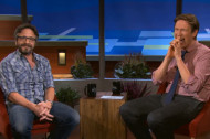 Watch Marc Maron and Pete Holmes Hug It Out