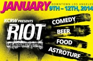 See Scott Aukerman and The Birthday Boys at the Riot LA Comedy Festival