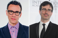 See Fred Armisen, John Oliver and More Chat for Charity