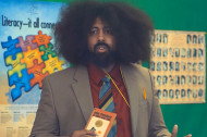 Reggie Watts Reveals the Truth Behind Classic Books