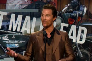 "Matthew McConaughey to World: ""Just Keep Livin'"""