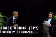 President Obama Stops by <em>Between Two Ferns</em>. No, Really.