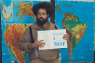 Reggie Watts Gives a Crazy, Smurf-filled History Lesson