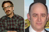 Marc Maron and Todd Barry Discuss Letterman and Trying to Get Seinfeld to Talk