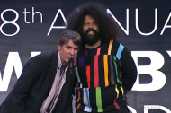 Reggie Watts and Stephen Malkmus Present Ylvis an Award in the Strangest Way Possible