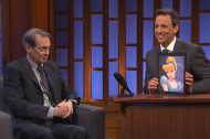 Steve Buscemi Tells Seth Meyers How to Make Disney Princesses Even Hotter
