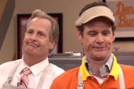 """Jim Carrey and Jeff Daniels Make Burgers, Reveal """"Dumb"""" Trailer on Fallon"""