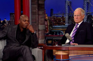 "Dave Chappelle to Letterman: ""Technically, I Never Quit…"""