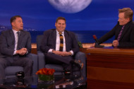 Jonah Hill and Channing Tatum Tell Conan About Their X-Rated Bet