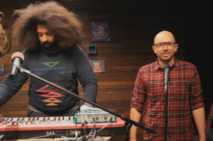 Paul Scheer Makes Creepy, Unsettling Music with Reggie Watts