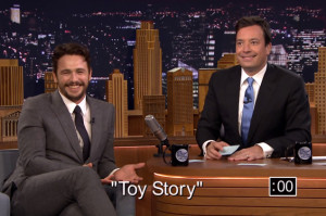 "James Franco and Jimmy Fallon Fail at ""5-Second Summaries"""
