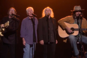 "Crosby, Stills, Nash & ""Young"" Get Fancy on Fallon"