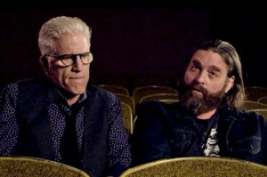 Zach Galifianakis and Ted Danson Rehearse A Play Based on the National's Album for Funny Or Die