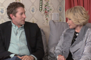 Watch Scott Aukerman Get in Bed with Joan Rivers