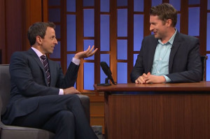 Scott Aukerman Took Over Late Night From Seth Meyers Last Night